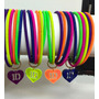 Pulseras One Direction 1d Lote Completo 20 Pzas
