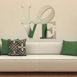 Espelho Decorativo Love Grande Em Acrílico Cabeceira De Cama