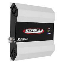 Módulo Soundigital Sd2500.1d - 1 Canal 2500w Rms (2 Ohms)