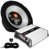 Kit Woofer Jbl Tornado 15´ 1100w Rms + Módulo Taramps Hd1600