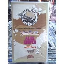 Operation Rock E Roll Judas Priest Alice Cooper Vhs Original