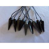 Pendulo De Obsidiana Piedra De Energia