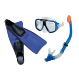 Set Snorkel Intex Careta Y Aletas 55957idealpaseo En Corales