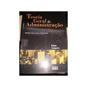Livro Teoria Geral Da Administração Edição Compacta