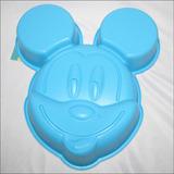 Molde Silicon Torta Gelatina Quesillo Mickey Mouse 26x22x6cm