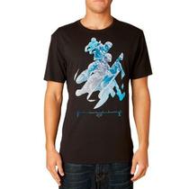 Camiseta Fox Splice Preto G(l)