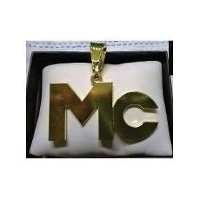 Pingente Mc Banhado A Ouro, Ostentação, Funk Tendência
