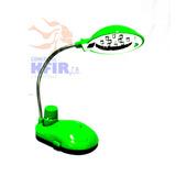 Mini Lampara De Mesa Led Con Ventilador + 3 Pilas De Regalo
