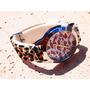 Reloj Mujer Animal Print Leopardo Importado Malla Silicona
