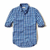 Camisa Hollister Quadriculada 100% Original - Tam: M - P2