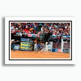 Quadro Rodeio Touros 60x40cm Show Arena Festa Peão Decoracao