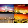 3 Cartão Postal Brasília Df - Frete Grátis