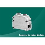 Conector De Cabos Modular C/3 Unidades Zagonel