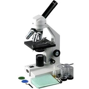 Microscopio Compuesto Avanzado 40x-2000x *envío Gratis*