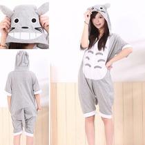Kigurumi Totoro Pijama Enterito De Verano Kawaii
