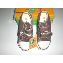 Zapatos Economicos Marrones Unisex Talla 27 Nuevos!!