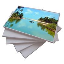 Papel Glossy Fotografico C 100 Fl Adesivo 135g A4