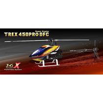 Helicóptero T-rex 450 Pro Dfc 3gx Super Combo Kx015087