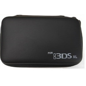 Case Nintendo 3ds Xl Capa Estojo Airform Preta Slim Fat
