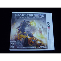 Transformers Dark Of The Moon 3ds Envio Gratis