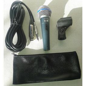 Microfono Mc 58a Rider Con Cable Bolsa Y Codo Remate