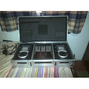 Vendo Combo Dj Numark Mezclador + Cd Players + Case