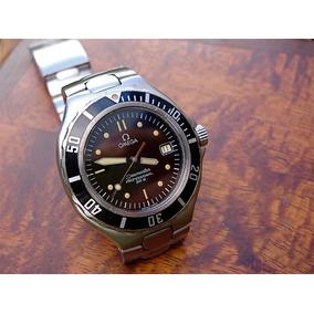 c229c4ce256 Lindo Relogio Omega Fundo Laranja Seamaster - Relógios no Mercado ...
