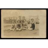 Argentina - Mar Del Plata 1920 Muelle De Madera Foto Postal