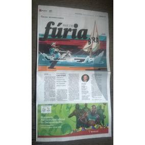 Matéria Folha De Sp - Lars Grael - Rio 2016 - Meu Momento Ol