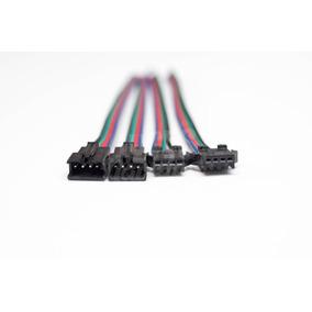Conectores Jst 4 Pines 10 Pares Para Burbuja Led Electrónica