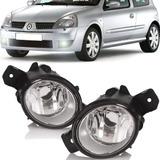 Par Farol Milha Renault Clio Sedan 03 2004 2005 2006 A 2011