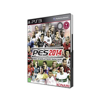 Jogo Pes Pro Evolution Soccer 2014 Ps3 Português Bluray Novo