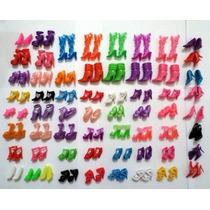 Kit Com 10 Pares Sapatos Para Barbie