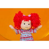 Muñeca De Tela Y Estambre Renata (muñeca De Trapo)