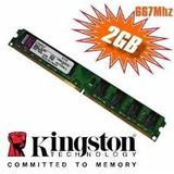 Kingston Original Ddr2 2gb Kvr 667 / 800 Garantia 1 Año
