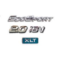 Kit Emblemas Ecosport 2.0 16v Xlt Ford + Brinde