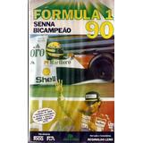 Vhs - Fórmula 1 Senna Bi-campeão 1990