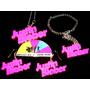 Combo Justin Bieber:collar-pulsera-zarcillos Artistas Online