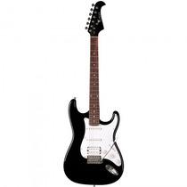 Guitarra Eagle Sts-002 Bk Stratocaster Preta - Refinado