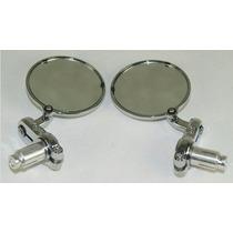 Espejos Para Motos Cromados(bar End Mirrors)
