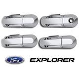 Kit Cromado Manillas Ford Explorer Ediie Bauer / Spor Track