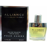 Perfume Alliance By Carlos Benaim Edt 80ml Vapo - Original