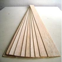 Madera Balsa Plancha 3 Mm. Pack 10 Unidades