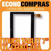 Touch Tablet China 7 Universal Yl-cg003-03a Negra 100% Nueva