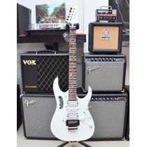 Guitarra Ibanez Jem Jr White Con Árbol De La Vida
