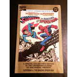 Marvel & Dc - Superman Vs Spiderman/ Capitan America 70 Años