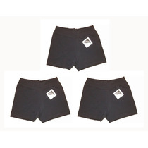 1 Set De 10 Shorts Algodón Lycra Gimnasia Hockey Voley Cesto