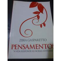 Livro: Gasparetto, Zibia - Pensamentos - Promoção.
