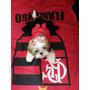 Vestido Flamengo Roupinha De Time Para Cachorro Xg & Xxg