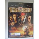 Dvd Piratas Do Caribe A Maldição Do Pérola Negra